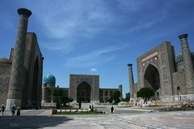 A Szamarkandi Registan