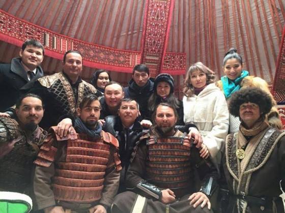 Magyar Turán Szövetség hagyományőrzői Kazakisztánban