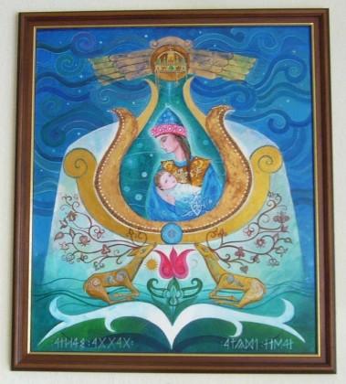 Babba Mária - Dávid Júlia festménye