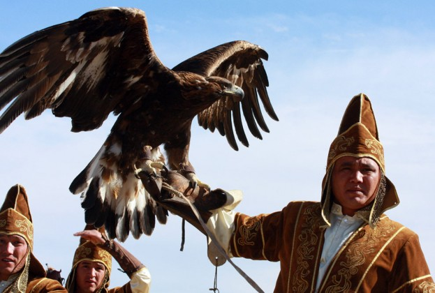 Burját golden eagle