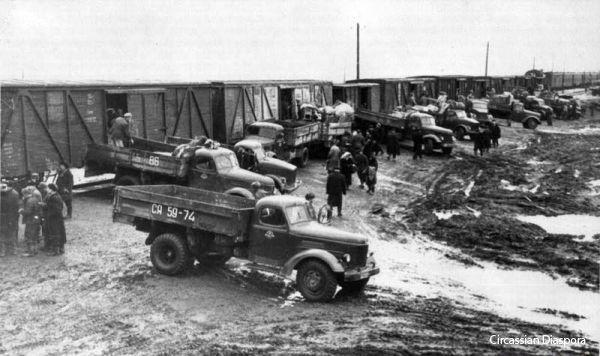 Karacsájok deportálása 1943-ban