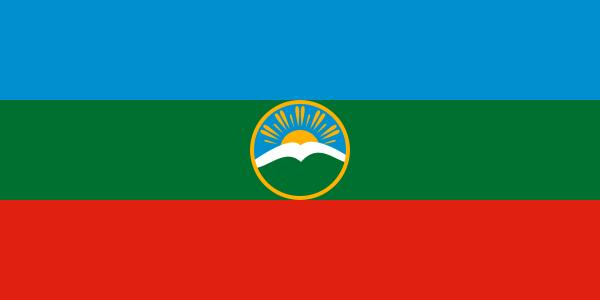 Karacsáj- és Cserkeszföld zászlója