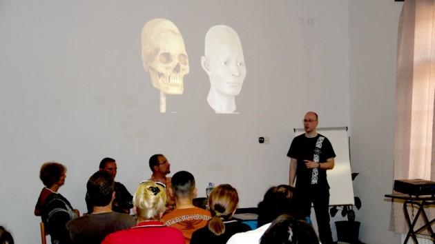 Évinger Sándor antropológus (Magyar Természettudományi Múzeum) előadást tartott a  XVII. Jászói Nyári Szabadegyetemen is, amely a Felvidék egyik legnagyobb nyári művelődési tábora.