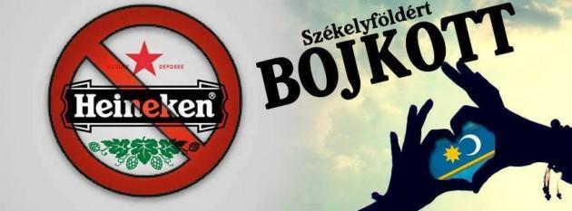 a Heineken bojkot - közösségi portál képe