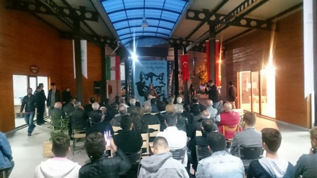 A megemlékezésen kívül előadásokat is tartottak, többek között a közös magyar és török turáni rokonságról