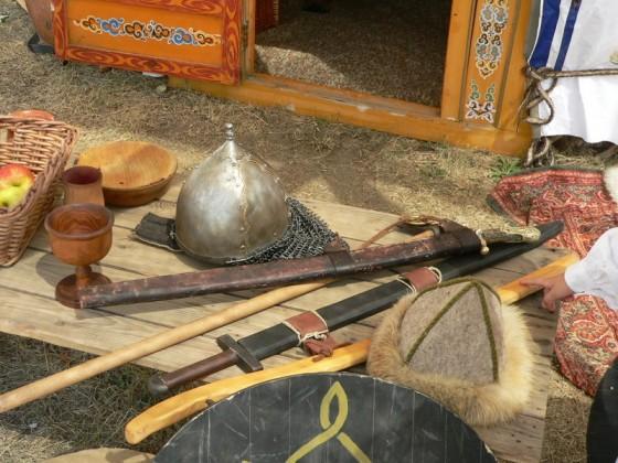 Életkép – a tábor harcosainak felszerelése
