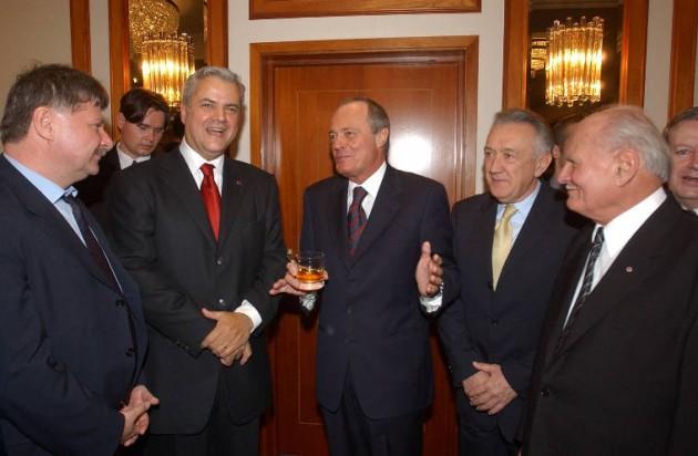 A magyar politikusok, akik a nemzetük elnyomását ünnepelték / Fotó: MTI