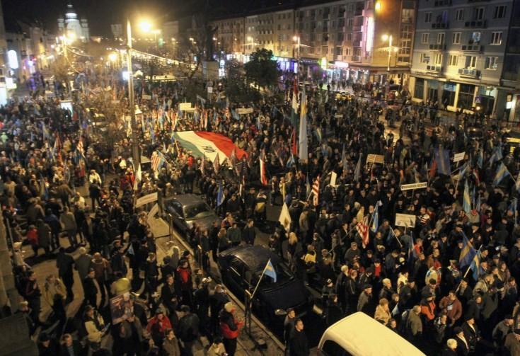 Marosvásárhelyi tüntetés 2013-ban